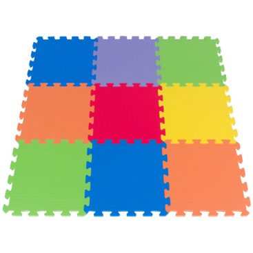 Foam Floor Puzzle Playmat with 9 Pieces