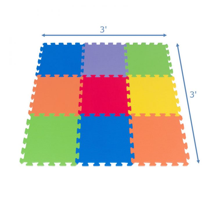 Foam Floor Puzzle Playmat Measurements