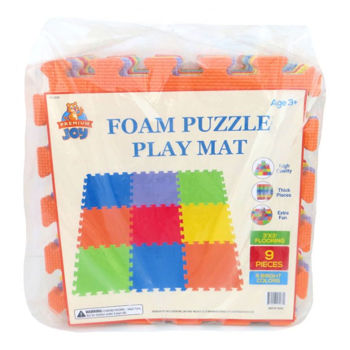 Foam Puzzle Playmat Package