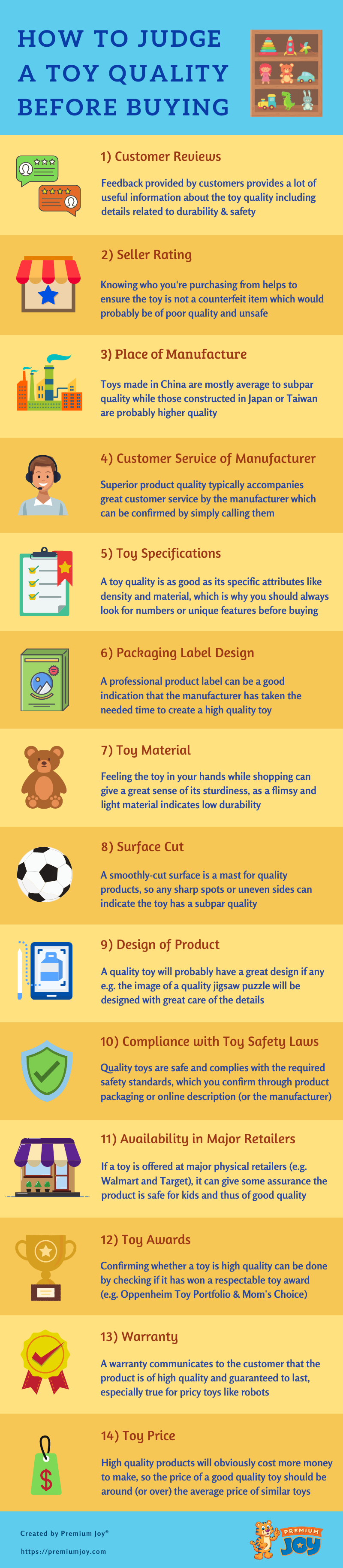 how to judge toy quality - infographic