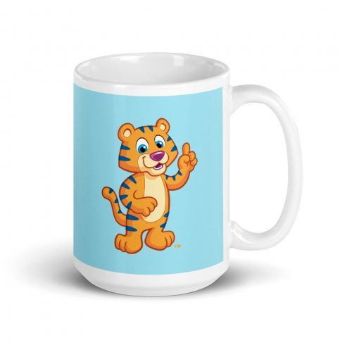 Child Mug with Colorful Cartoon (big)