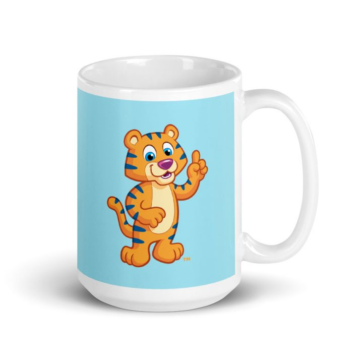 Child Mug with Colorful Cartoon - Big