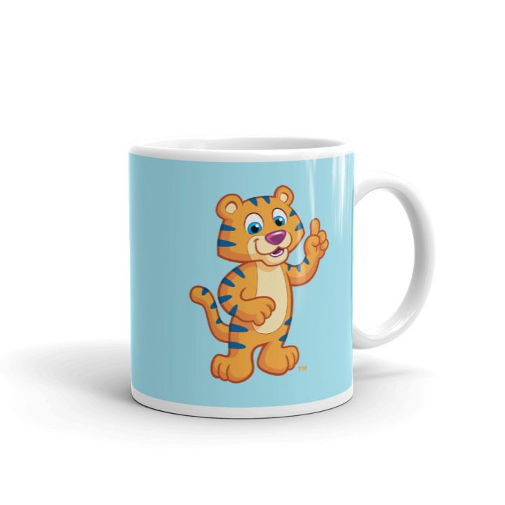 Child Mug with Colorful Cartoon - Small