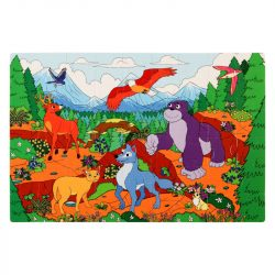 Assembled Image of Mountain Foam Jigsaw Puzzle