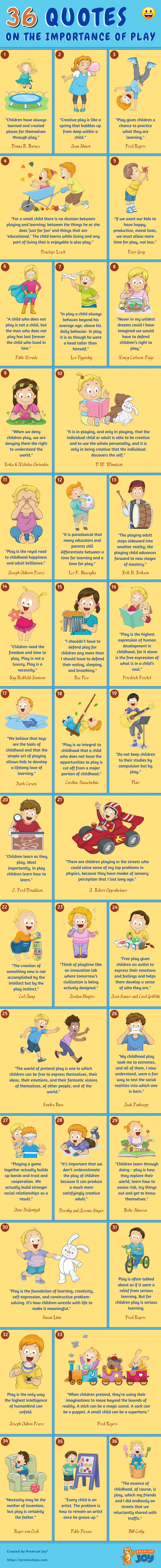 36 Quotes on the Importance of Play for Kids