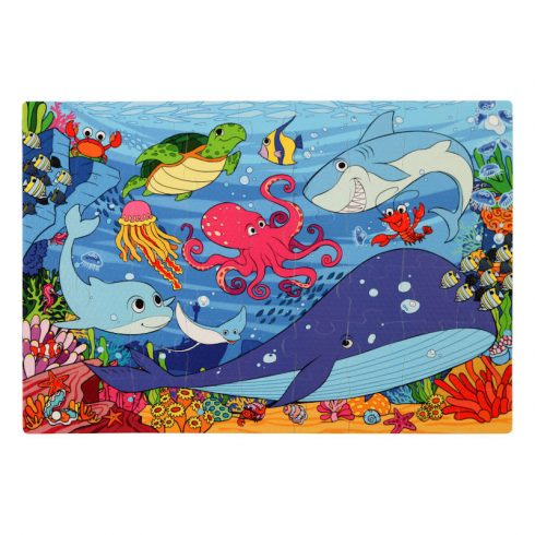 Assembled Image of Under the Sea Foam Jigsaw Puzzle
