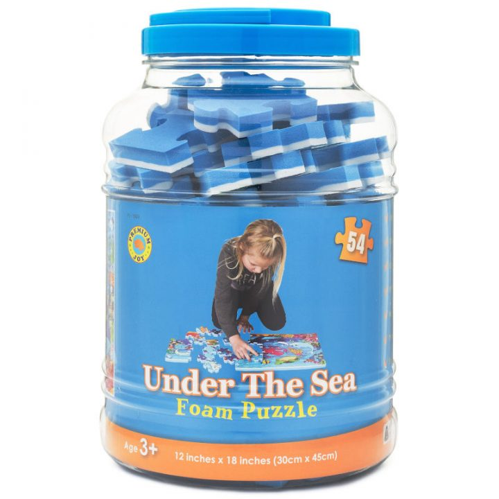Sea Puzzle Packaging